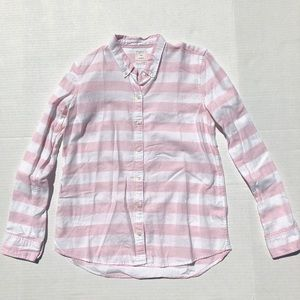 Gap Pink and White Button Down BR1